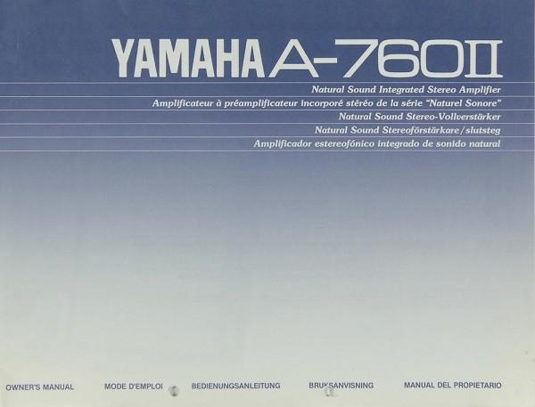 Yamaha A-760 II Bedienungsanleitung