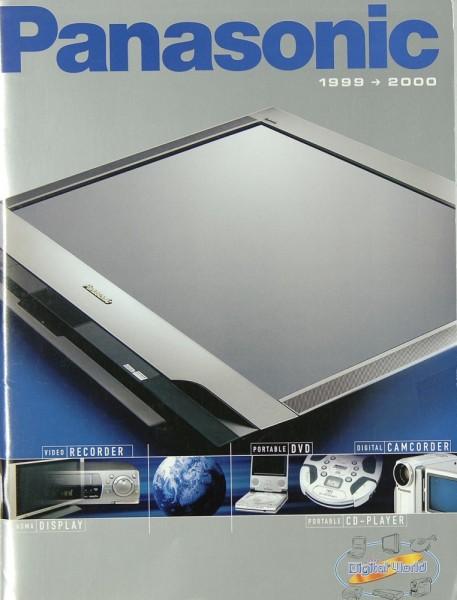 Panasonic Gesamtkatalog 1999/2000 Prospekt / Katalog