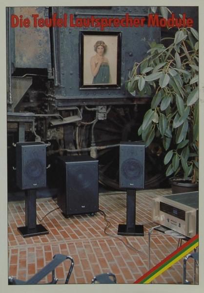 Teufel Die Teufel Lautsprecher Module Prospekt / Katalog