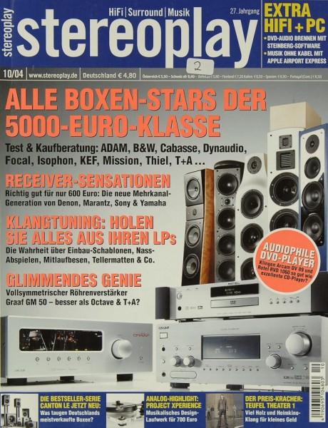 Stereoplay 10/2004 Zeitschrift