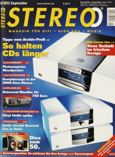 Stereo 9/2012 Zeitschrift