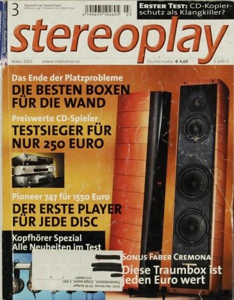 Stereoplay 3/2002 Zeitschrift