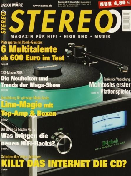 Stereo 3/2008 Zeitschrift