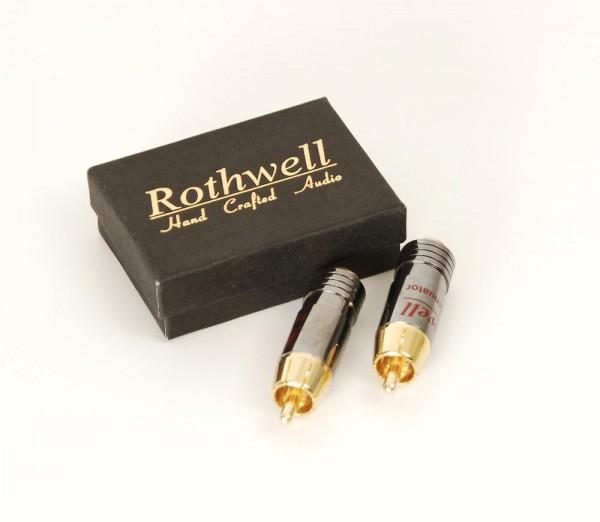 Rothwell In-Line Attenuator Stecker mit Pegelabsenkung Paar
