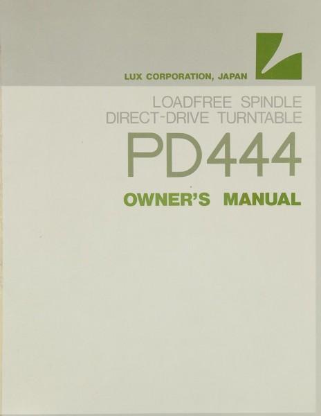 Lux PD 444 Bedienungsanleitung