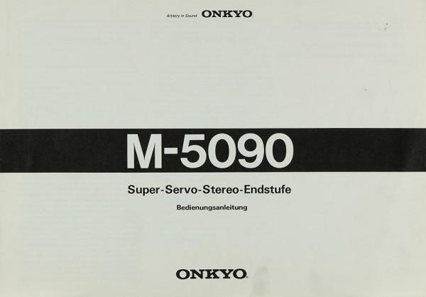Onkyo M-5090 Bedienungsanleitung