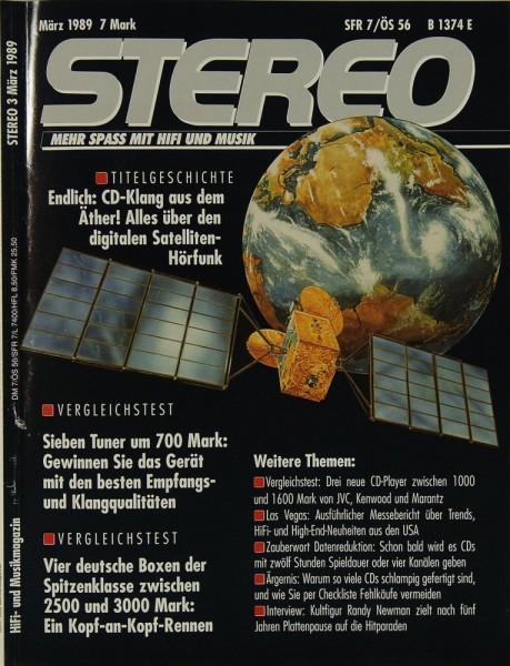 Stereo 3/1989 Zeitschrift