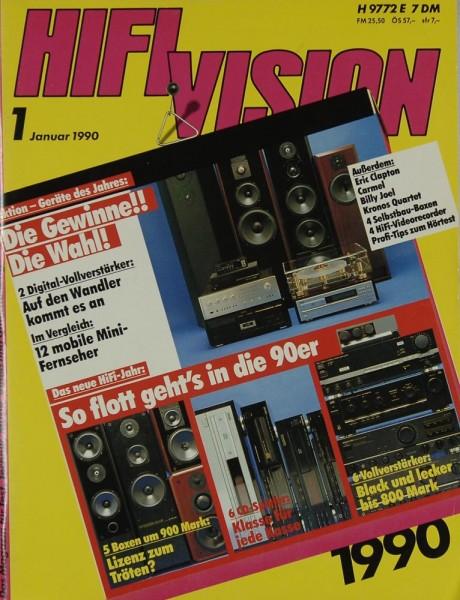Hifi Vision 1/1990 Zeitschrift