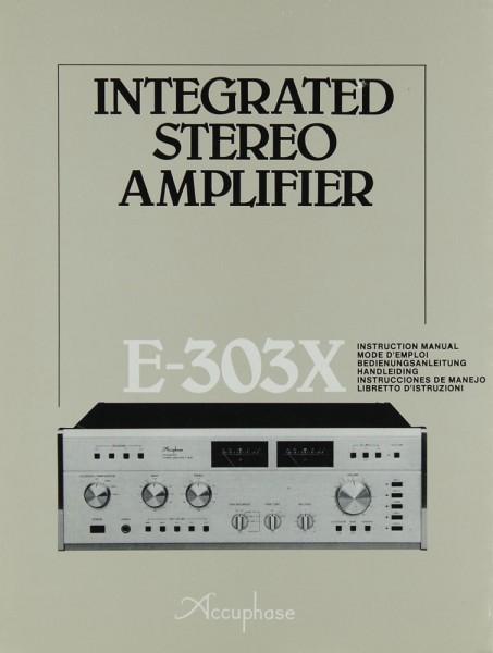 Accuphase E-303 X Bedienungsanleitung