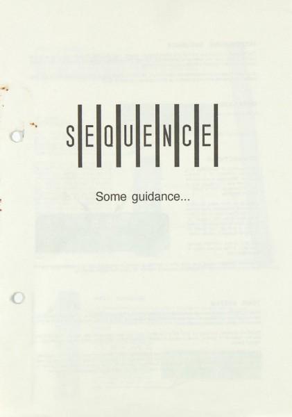 Sequence 30 Bedienungsanleitung