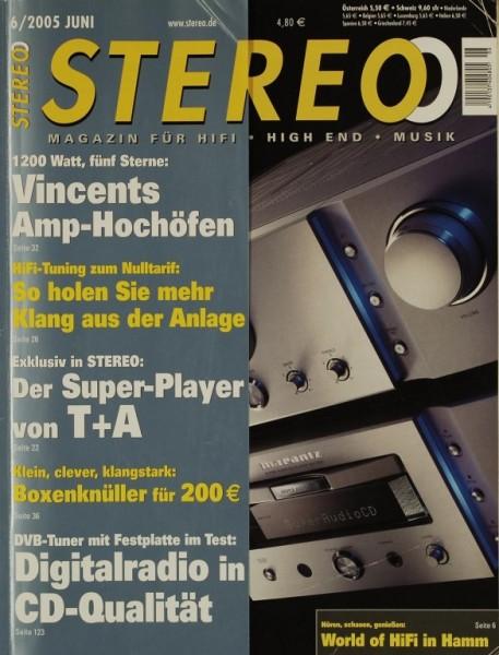 Stereo 6/2005 Zeitschrift