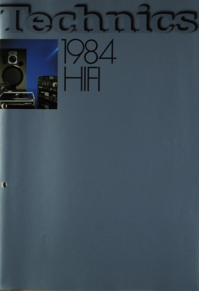 Technics Technics HiFi 1984 Prospekt / Katalog