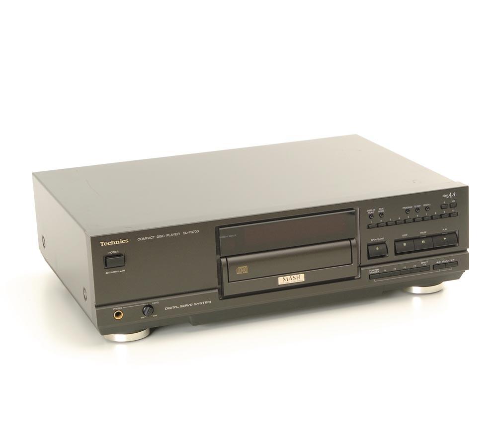 technics sl ps 700 cd player cd ger te ger te. Black Bedroom Furniture Sets. Home Design Ideas