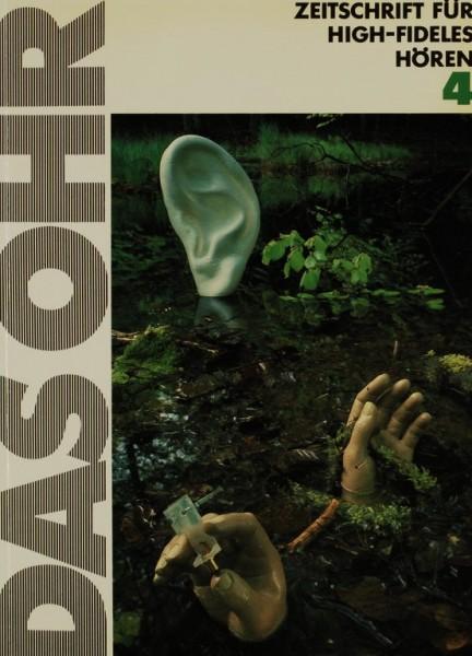 Das Ohr 4 Zeitschrift