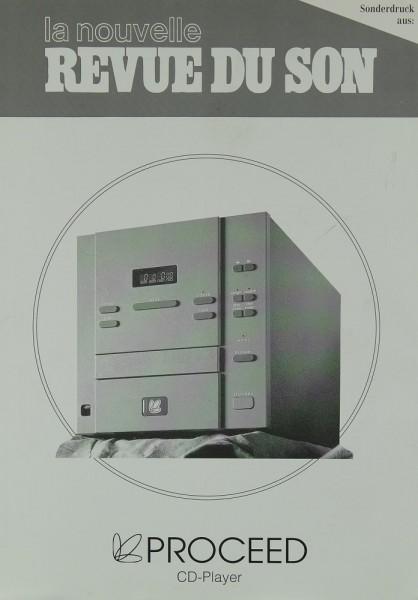 Proceed CD-Player Testnachdruck