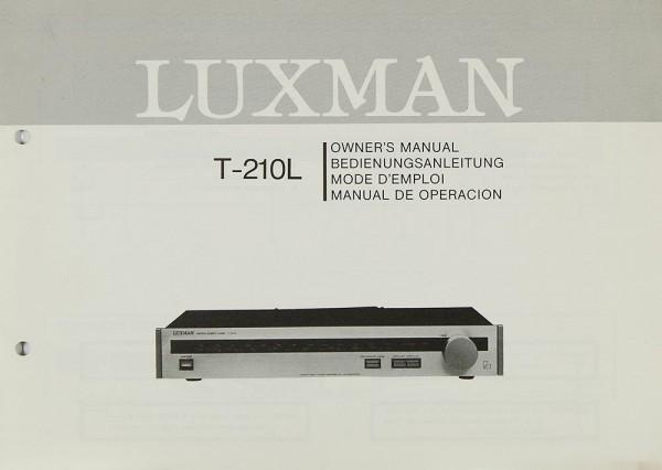 Luxman T-210 L Bedienungsanleitung