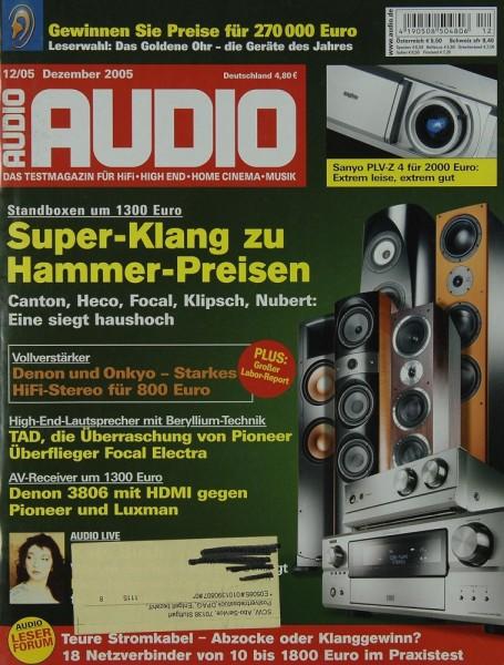 Audio 12/2005 Zeitschrift