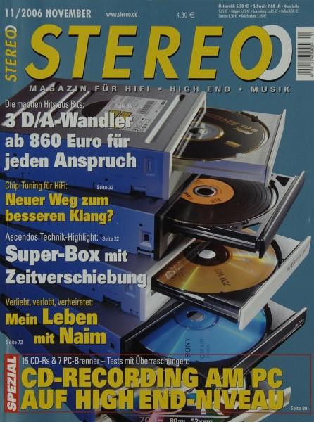 Stereo 11/2006 Zeitschrift