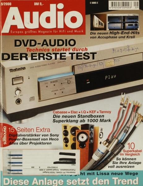 Audio 9/2000 Zeitschrift