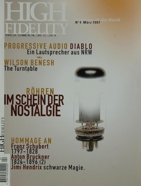 High Fidelity N° 4 Zeitschrift