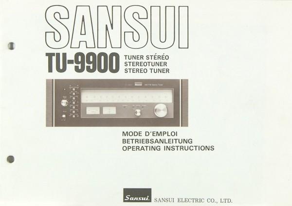 Sansui TU-9900 Bedienungsanleitung