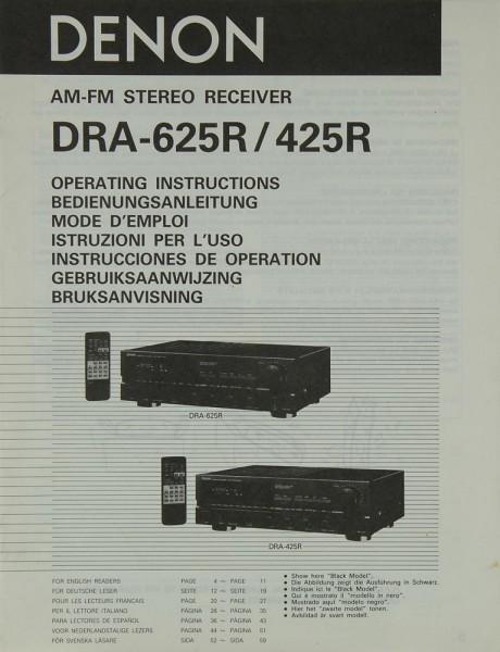 Denon DRA-625 R / 425 R Bedienungsanleitung