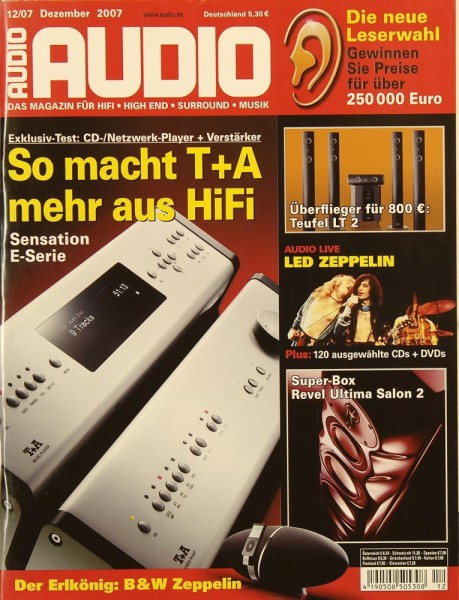 Audio 12/2007 Zeitschrift
