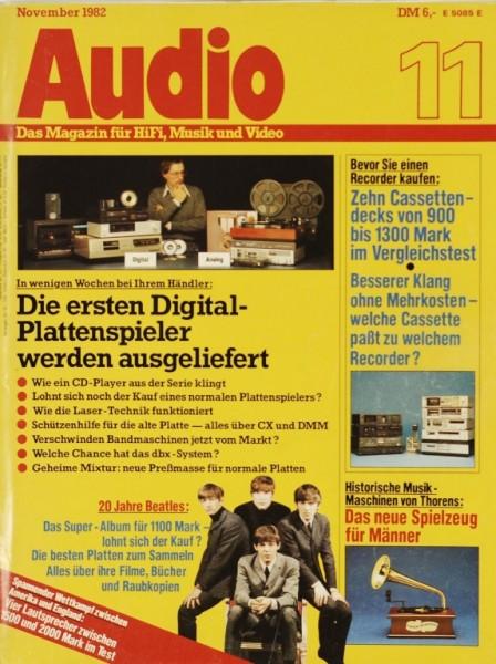 Audio 11/1982 Zeitschrift