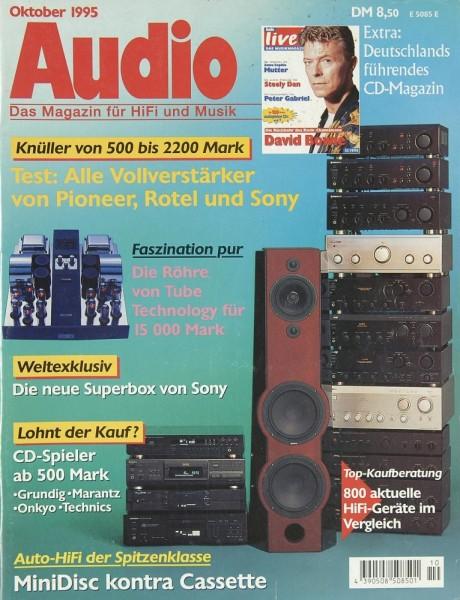 Audio 10/1995 Zeitschrift