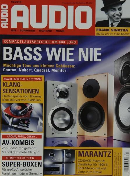 Audio 3/2010 Zeitschrift