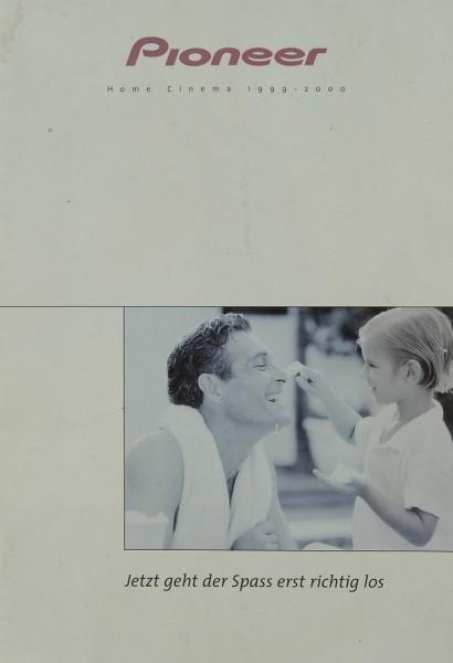 Pioneer Home Cinema 1999-2000 Prospekt / Katalog