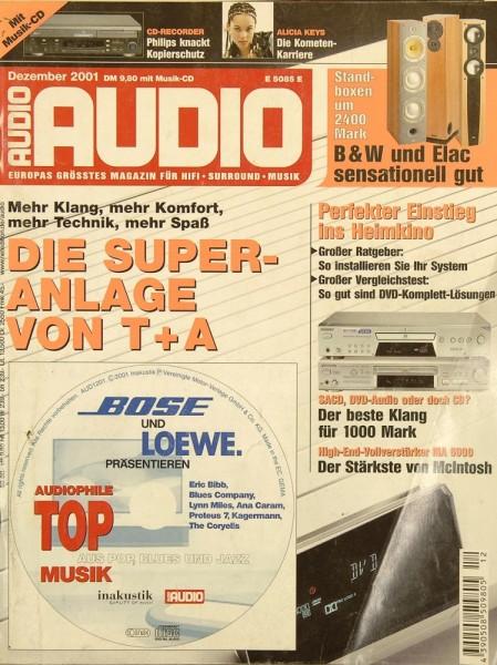 Audio 12/2001 Zeitschrift
