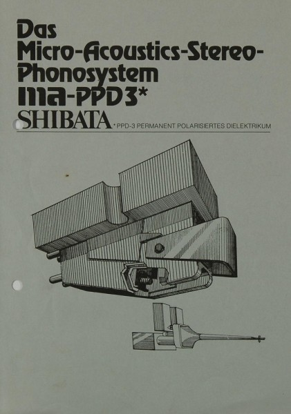 Shibata MA-PPD 3 Bedienungsanleitung