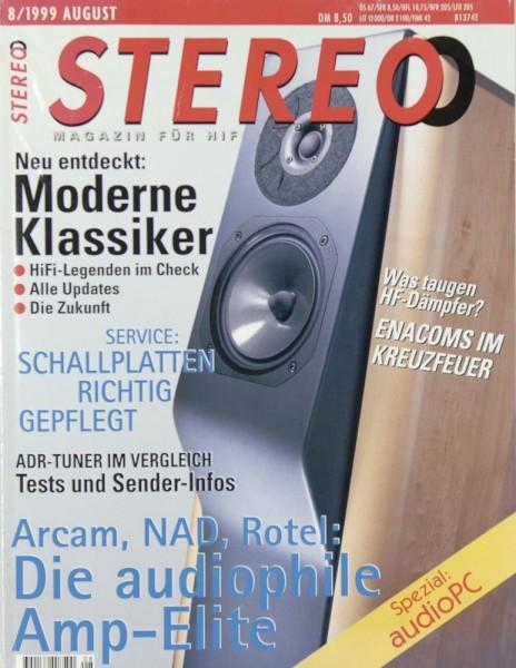 Stereo 8/1999 Zeitschrift