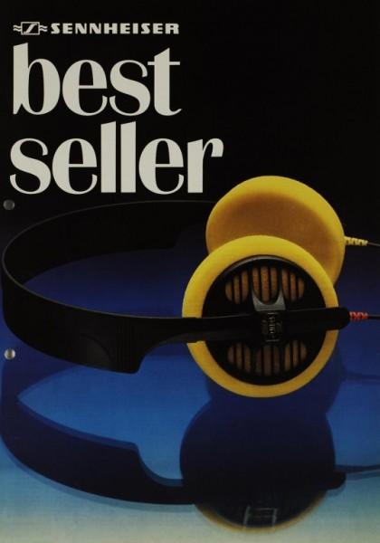 Sennheiser Bestseller (1984) Prospekt / Katalog