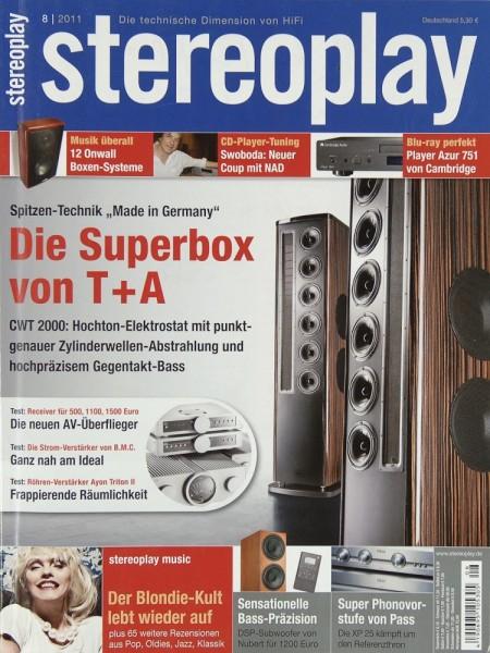 Stereoplay 8/2011 Zeitschrift