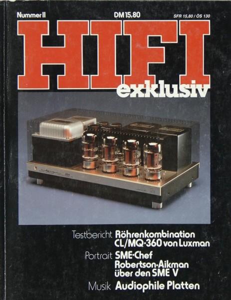 Hifi Exklusiv Nummer II Zeitschrift