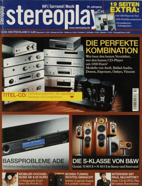 Stereoplay 10/2005 Zeitschrift