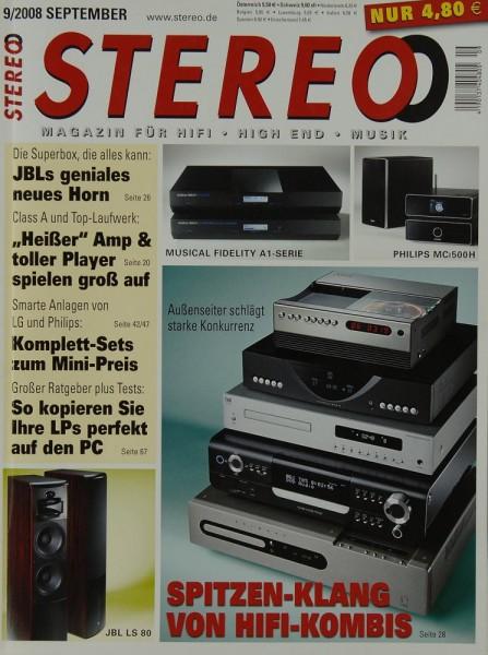 Stereo 9/2008 Zeitschrift