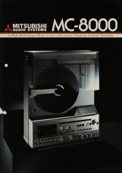 Mitsubishi MC-8000 Prospekt / Katalog