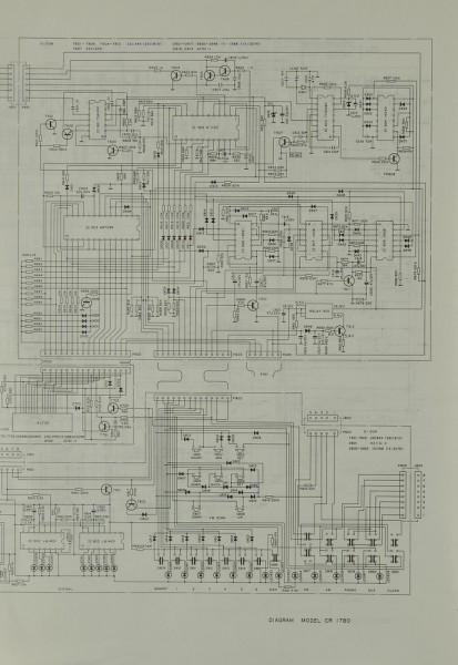 Dual CR 1780 Schaltplan / Serviceunterlagen | Receiver | Dual ...
