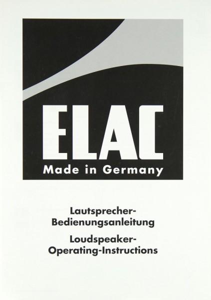 Elac CLS 12 Bedienungsanleitung