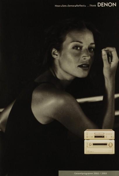Denon Gesamtprogramm 2002 / 2003 Prospekt / Katalog