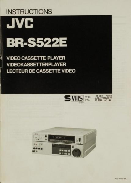 JVC BR-S 522 E Bedienungsanleitung