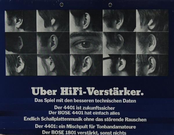 Bose Über Hifi Verstärker (4401 / 1801) Prospekt / Katalog