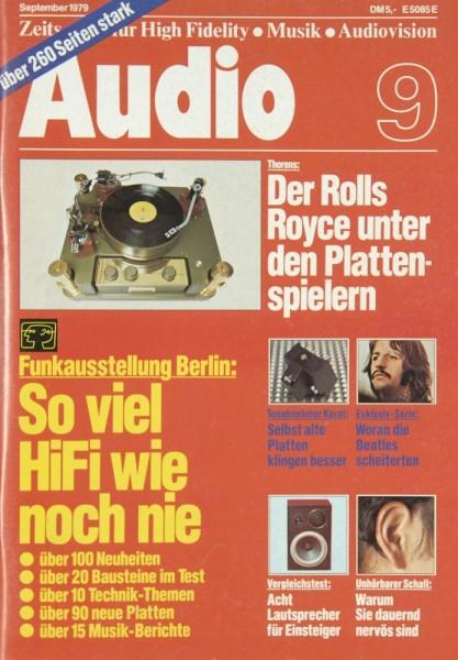 Audio 9/1979 Zeitschrift