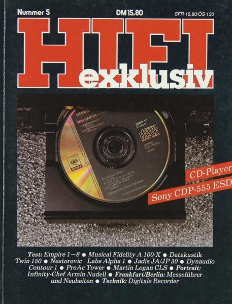 Hifi Exklusiv Nummer 5 Zeitschrift
