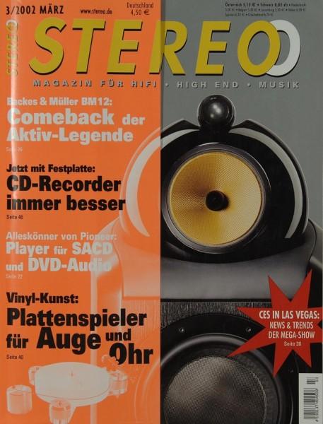 Stereo 3/2002 Zeitschrift