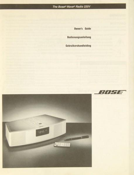 Bose Wave Bedienungsanleitung