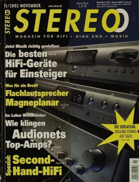Stereo 11/2002 Zeitschrift